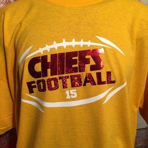 Chiefs t-shirts